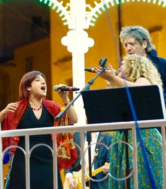 Maria Mazzotta, Irene Lungo and Cesare Dell'Anna
